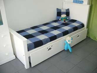 Dormitorios for Futon cama de una plaza